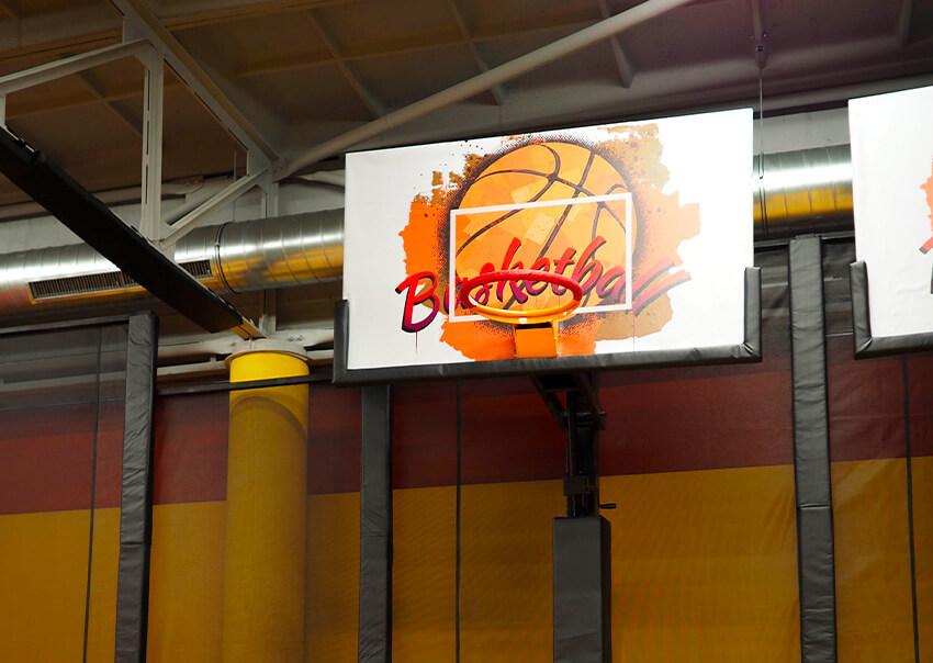 Basketball Jump aréna Tábor Sezimovo Ústí