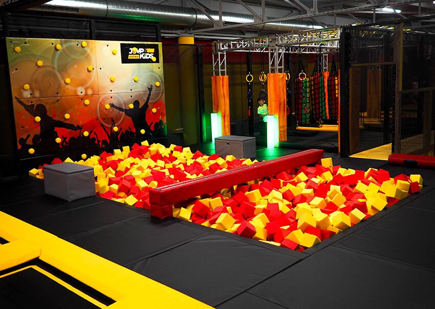 Přetlačovaná Jump aréna Tábor Sezimovo Ústí