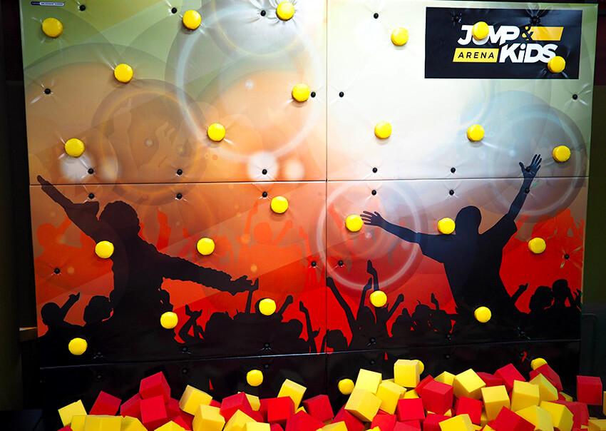 Lezecká stěna Jump aréna Tábor Sezimovo Ústí