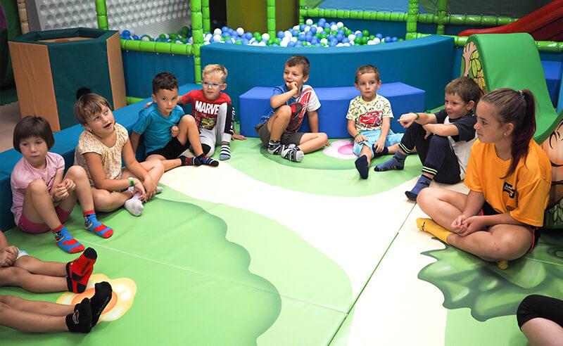 Příměstský tábor 2021 v Kids aréně Tábor