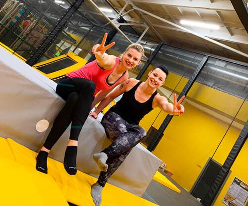 Lekce pro ženy v Jump and Kids Aréně Tábor