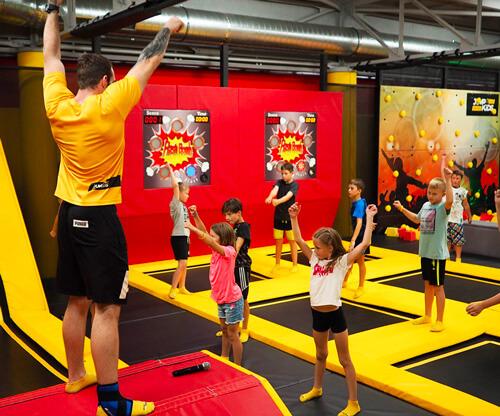 Parkourové kurzy v Jump and Kids Aréně Tábor