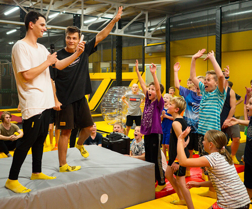 Přespávačky v Jump and Kids Aréně Tábor
