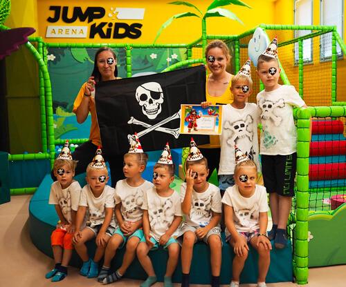 Příměstské tábory v Jump and kids aréně Tábor
