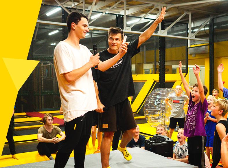 Hvězdná přespávačka v Jump and kids aréně Tábor
