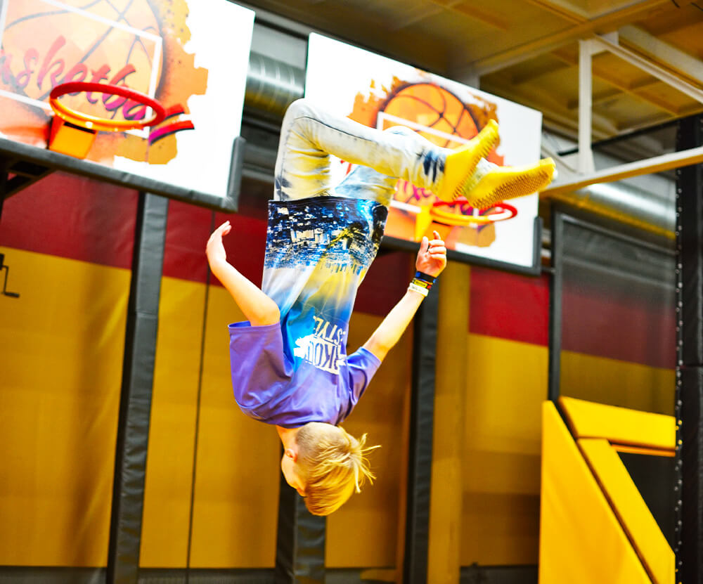 Atrakce Jump and Kids arény Tábor Basketball