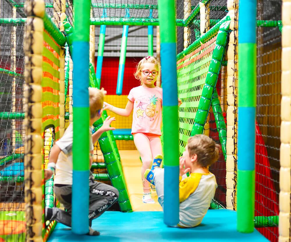 Atrakce Jump and Kids arény Tábor Opičí dráha