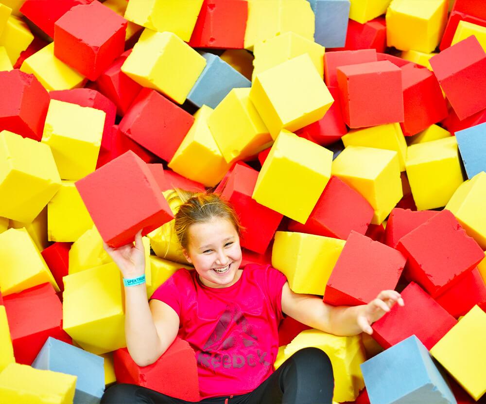 Atrakce Jump and Kids arény Tábor Pěnové moře