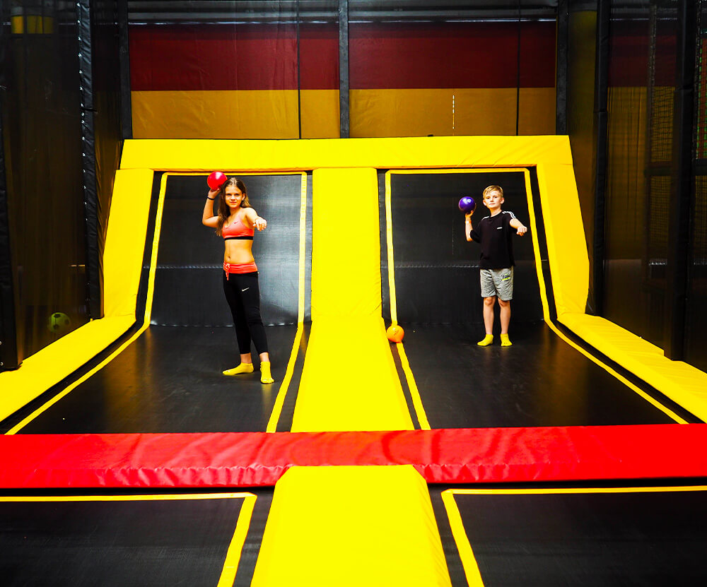 Atrakce Jump and Kids arény Tábor Vybíjená