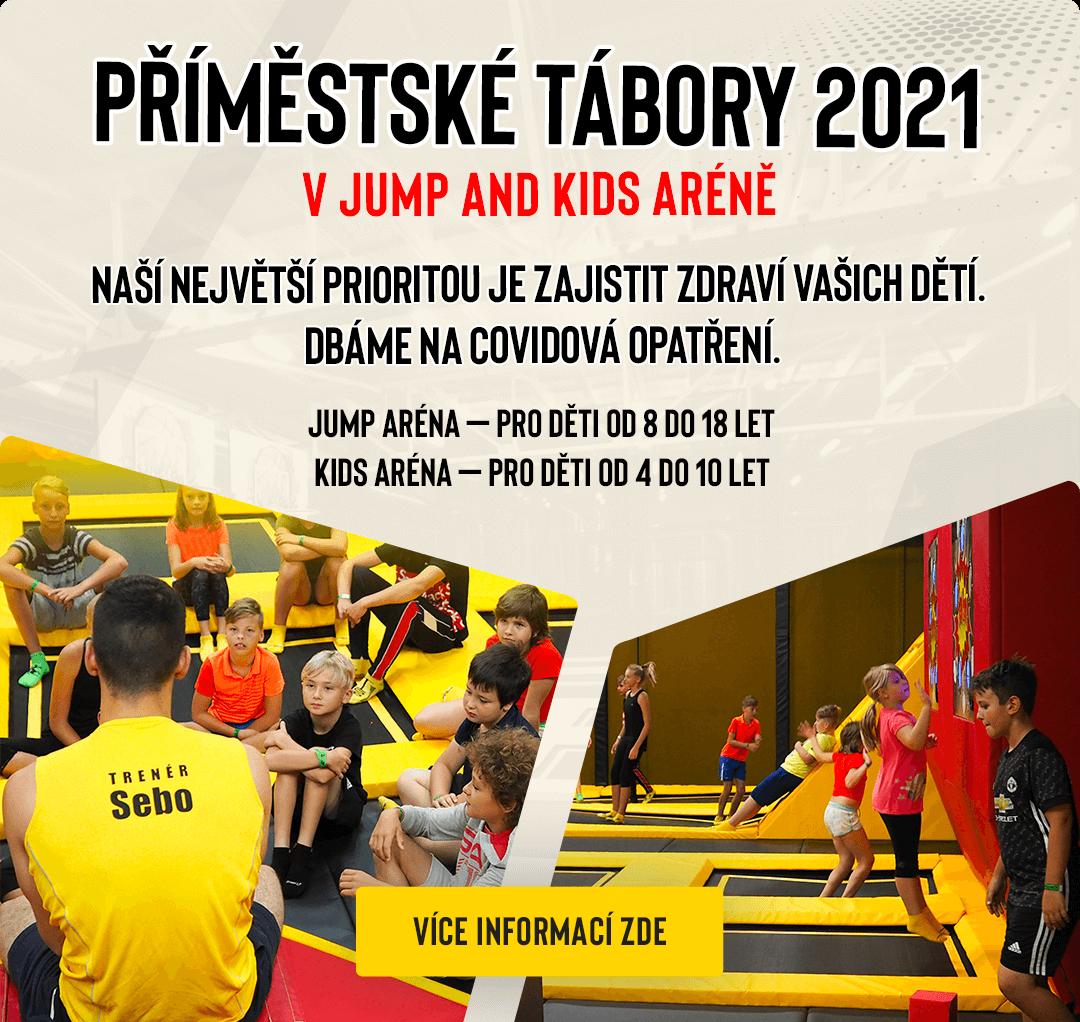 Příměstský tábor 2021 v Jump and Kids aréně Tábor