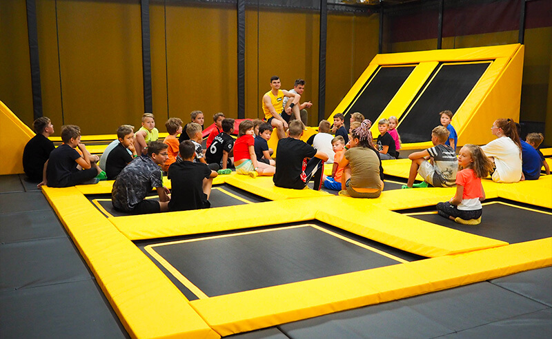 Příměstský tábor 2021 v Jump aréně Tábor