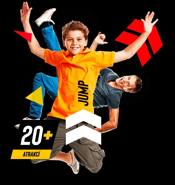 Jump and kids Aréna Tábor - Sezimovo Ústí