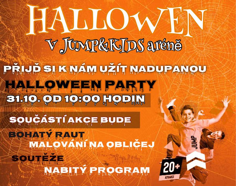 Hallowen v Jump aréně